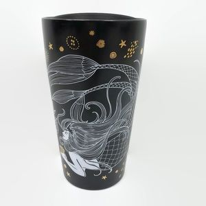 Starbucks Holiday 2019 Black Mermaid Siren Tumbler